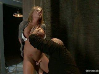 Mladý blondýnka aiden aspen gets humiliated