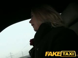 FakeTaxi Prague blonde with a great ass and tits - Porn Video 651