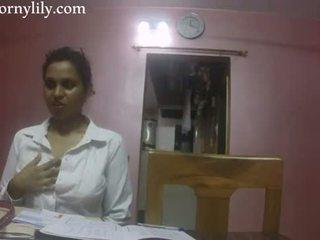 इंडियन सेक्स टीचर हॉर्नी lily प्यार lesson