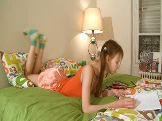 Fies homework von intelligent teenager