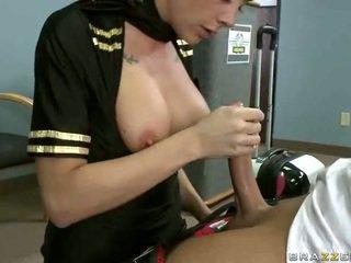 Pieptoasa airline stewardeza