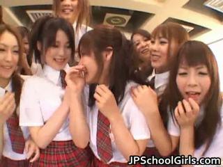 美麗 日本語 schoolgirls exploring