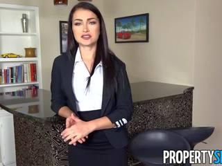 Propertysex - reāls estate agent excepts liels piedāvājums: porno a2