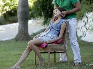 gręžimo paauglių pūlingas, oralinis seksas, čiulpti gaidys