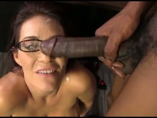 Charlee chase fucks a younger black dude