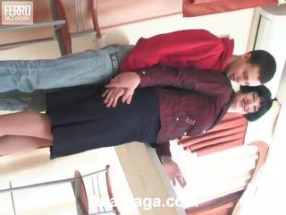 Mia en lewis passioneel anaal vid