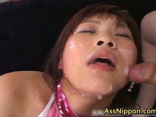 Haruka andou ázsiai tini szajha gives