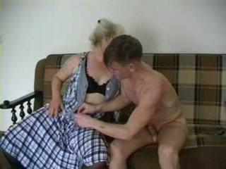 Sexy abuela lena y alex