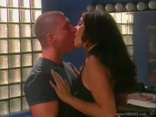 briunetė, cum, boobs