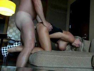 Hot Blonde Milf Fucks For Money In Hotel Room Video