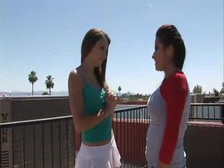 lésbicas, girl-on-girl, alex
