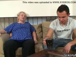 He easily seduces old grandma