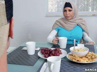 blowjob, arabų, sesuo