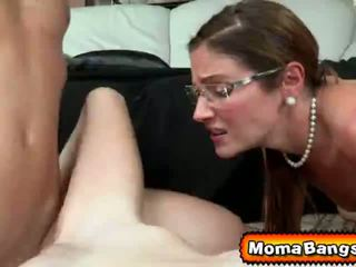 Ava Hardy Got Pounded by her Step-Mom with Strap on