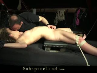 Teeny girl tied up on the bad and fucked <span class=duration>- 6 min</span>