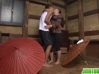 japonec, masturbace, zralý