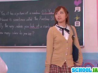 Sleaze youngster yuu namiki uz skola uniforma