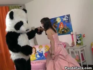 Teenaged fairy revived brinquedo panda e cocksuck