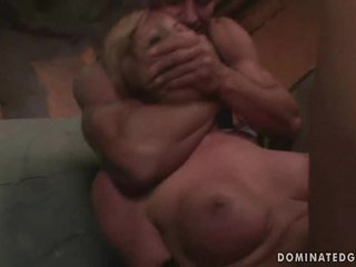 Girl gets punished and fucked rough