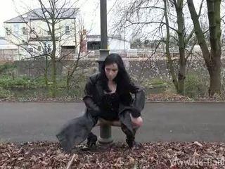 Fae corbins amaterke flashing in zunaj bejbe javno nudity in outragious exhi