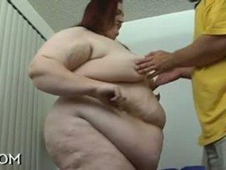 Obézne beauty gets nailed dobre