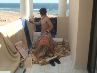 Fucked at the beach house