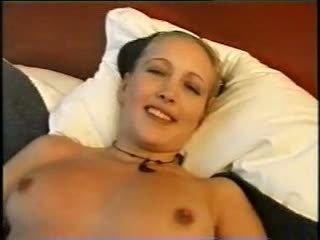 Norwegian amateur chick masturbating