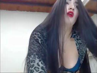 Seksuālā garš haired colombian striptease garš mati mati.