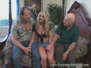 Monster black cocks banging big tits blonde wife