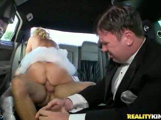 riding, car, brides