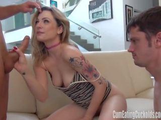 Dahlia Sky gets Pumped Hard, Free Cum Eating Cuckolds Channel Porn Video