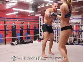عالية الوضوح fantasyhd - natalia starr wrestles لها طريق إلى اللعنة session