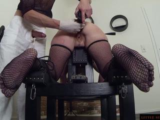 Bdsm anal escrava double treinamento de o littel sunshine milf