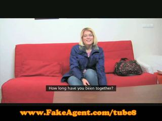 Fakeagent occhiali pupa gets spunked oltre
