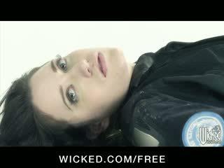 Aiden starr - horizon dvd scène 6 - gros seins lesbiennes avec poilu chatte finger baise