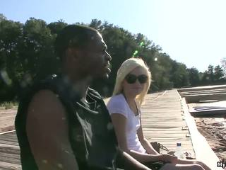 Jada Love is going to take a bbc boat ride