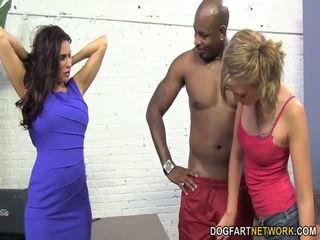 blowjobs, big tits, interracial
