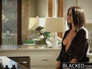 Blacked brune adriana chechik takes trio i bbcs