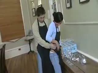 Dishwasher wants de serveerster