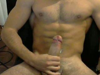 Hot muscle stud cumming