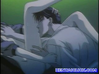 Virgin hentai guy getting lui pula sucked