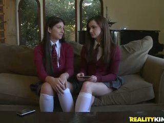 më schoolgirls hq, argëtim uniformë shkolle më shumë, schoolgirls naked falas