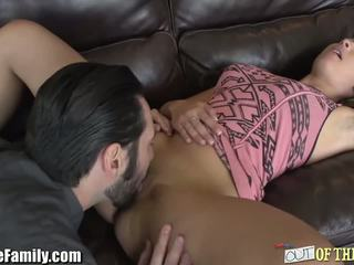 MILF Joins in After Catching Daughter with BF