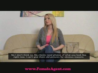 Femaleagent 素晴らしい breast キャスティング
