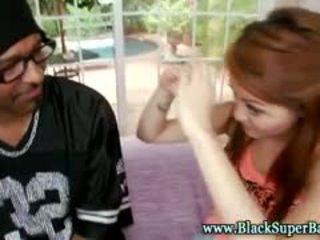 Asian Interracial Slut Loves Big Black Cock