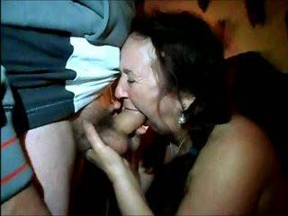 pufók, bbw, cum a szájban