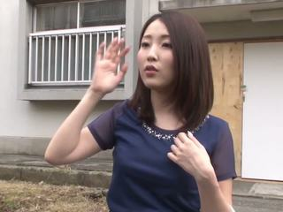 brunette, japanese, vaginal onani