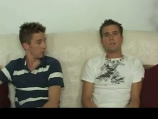 Aiden & sean having homosexual σεξ επί ο καναπές homosexual πορνό 4 με gotbroke