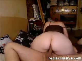 My big ass neighbor riding my cock Video
