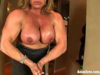 clítoris, clítoris grande, female bodybuilder
